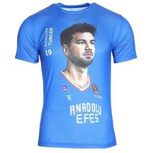 Anadolu Efes Buğrahan Tuncer Unisex Basketbol Tişört TKE2020-TUNCER