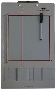 Çift Taraflı Voleybol Taktik Tahtası Ve Kalemi RM7-VLB