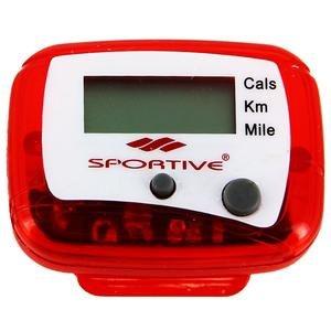 Unisex Kırmızı Pedometre SPT-24001