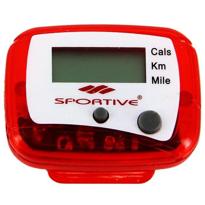 Unisex Kırmızı Pedometre SPT-24001 319261