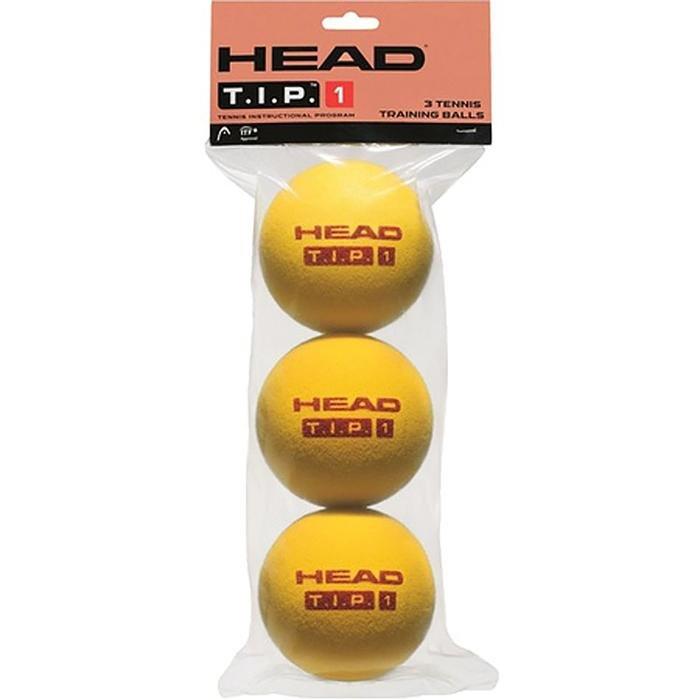 3B Head Tip Red - Foam Ball - 4Dz 578263 470444