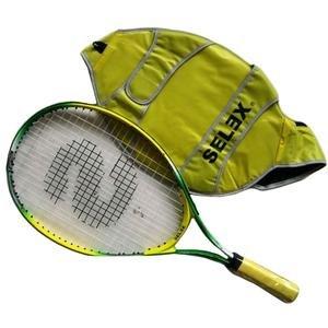 Star Kılıflı Sarı Tenis Raketi 22321-23