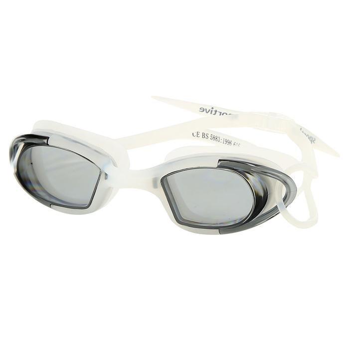 Unisex Beyaz Yüzücü Gözlüğü SR-616-SMOK 682252