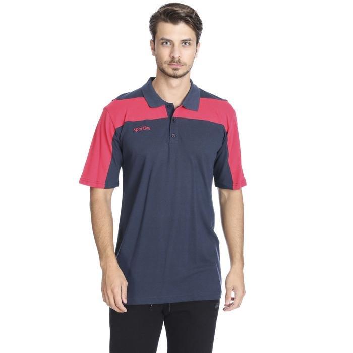 Nicolo Erkek Lacivert Basketbol Polo Tişört 201460-0LK 636687
