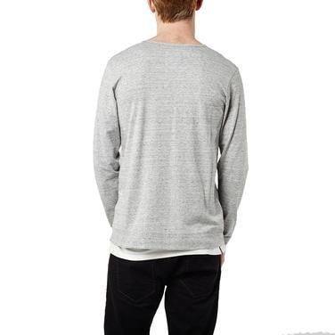 Jack'S Special Long Slv Top Erkek Gri Günlük Stil Uzun Kollu Tişört 652100-1030 912704