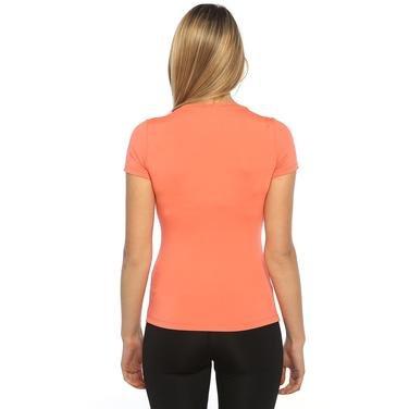 Polkestop Kadın Turuncu Koşu Tişört 525012-00F 751888