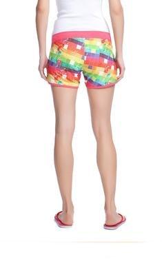 Stella Kadın Çok Renkli Desenli Kısa Şort 240021-TYK 389705