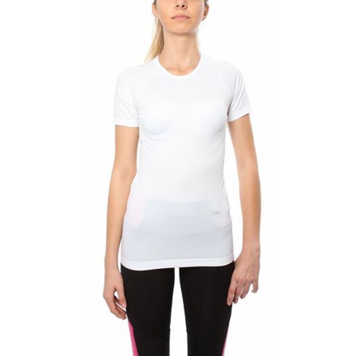 Seambody Kadın Beyaz Günlük Stil Tişört 100972-0WH 618550