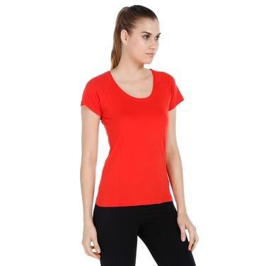 Supnecku Kadın Kırmızı Günlük Stil Tişört 400210-00R 714116