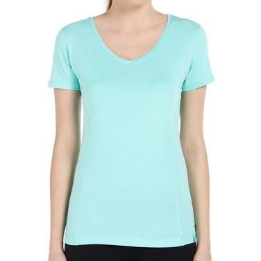 Supkestop Kadın Yeşil Günlük Stil Tişört 400214-CBG 714294