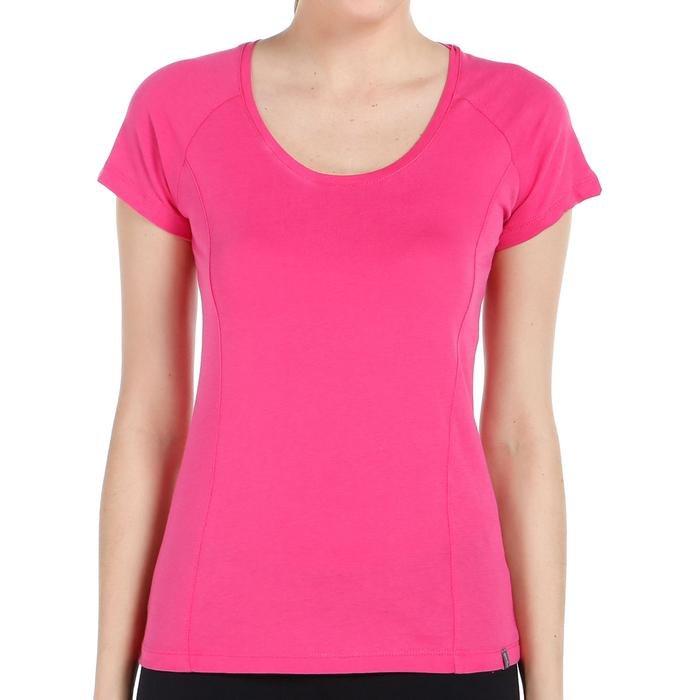 Supnecku Kadın Pembe Günlük Stil Tişört 400210-FUC 714144