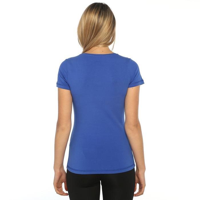 Supkestop Kadın Mavi Günlük Stil Tişört 525031-00X 752319