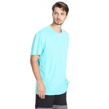 Fortunato Erkek Mavi Günlük Stil Tişört 611005-0Tg 801910
