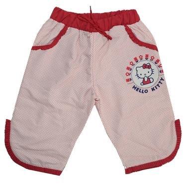 Hello Kıtty Çocuk Fırfırlı Puantiyeli Kırmızı Kapri Şort HK-702 418029