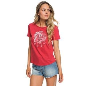 Red Lines Color Kadın Kırmızı Günlük Tişört Erjzt04473-Rpy0