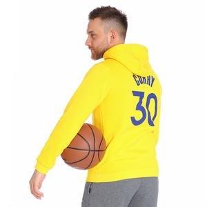 Golden State Warriors NBA Erkek Sarı Basketbol Sweatshirt AV0392-732