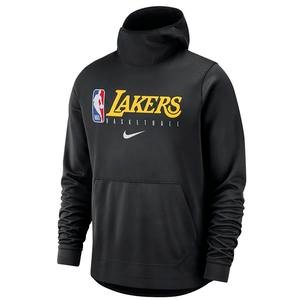 Lebron James Los Angeles Lakers NBA Erkek Siyah Basketbol Sweatshirt AT9033-010