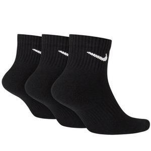 Everyday Cushioned Erkek Siyah 3'Lü Çorap SX7667-010