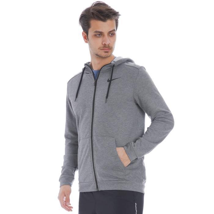 Dry Erkek Gri Antrenman Sweatshirt CJ4317-071 1136546