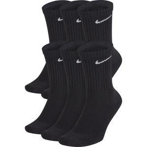 Everyday Cush Crew Siyah 6'lı Çorap SX7666-010