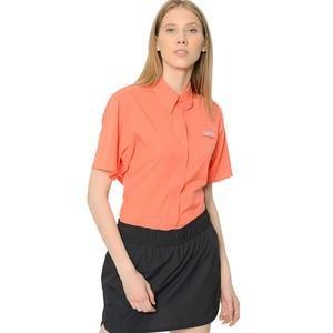 Tamiami II Kadın Turuncu Kısa Kollu Gömlek FL7277-853