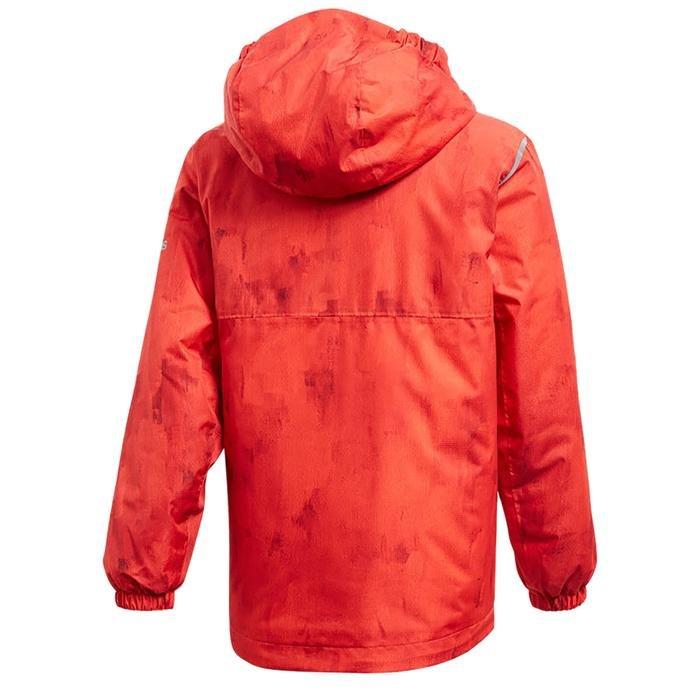 Bg Li Çocuk Kırmızı Kapüşonlu Outdoor Mont CY8895 1075838