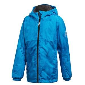 Bg Li Çocuk Mavi Kapüşonlu Outdoor Mont CY1958