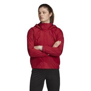 W Ax Kadın Kırmızı Kapüşonlu Outdoor Mont DZ0789