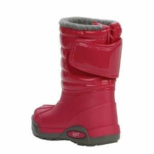 Topo Ski Charol Çocuk Kırmızı Outdoor Ayakkabı W10168-007