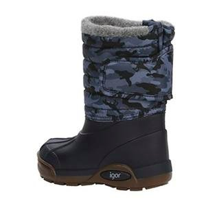 Topo Ski Camo Çocuk Lacivert Outdoor Ayakkabı W10210-003