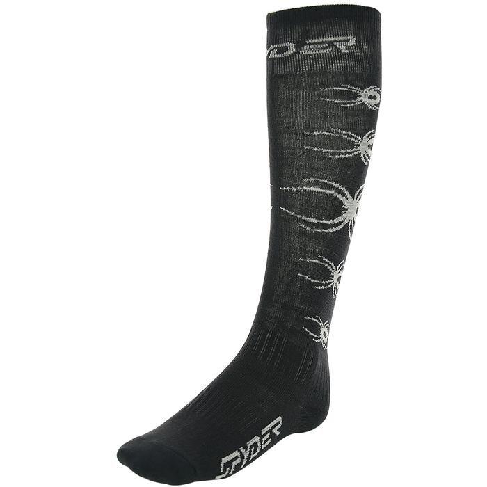 Çocuk Desenli Siyah Garson Çorap 137722-022 531322
