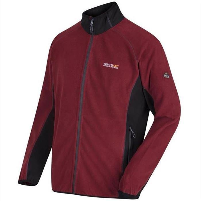 Ashton Erkek Bordo Polar Sweatshirt RMA249-23B 1182492