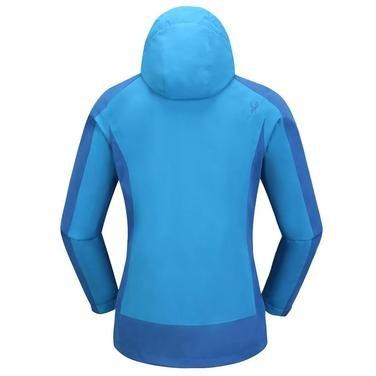 Sparkle 3 in 1 Kadın Mavi Kapüşonlu Outdoor Mont 2ASW17022003BDB 1086539