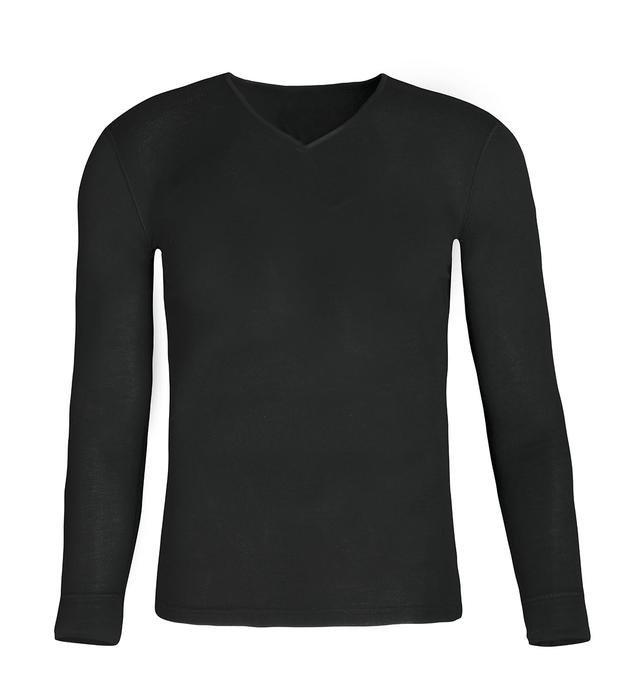 Erkek Siyah Uzun Kollu İçlik M100070-SYH 1127813