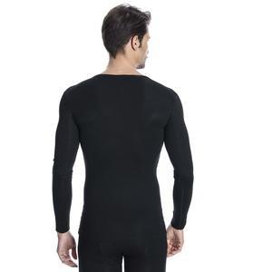Erkek Siyah Uzun Kollu İçlik M100070-SYH