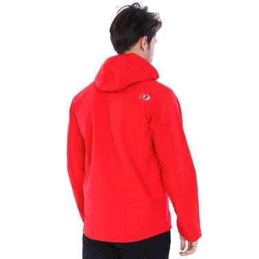 Effect Softshell Erkek Kırmızı Kapüşonlu Outdoor Mont 2ASW17022008901 994376