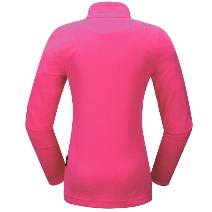 Tanya Kadın Pembe Polar Sweatshirt 2ASW16037001915 1157772
