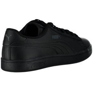 Smash V2 L Jr Kadın Siyah Günlük Ayakkabı 36517001