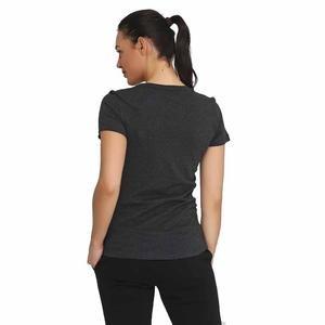 Ess Logo Tee Kadın Siyah Tişört 85178707