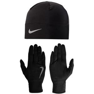 Aksesuar Women'S Run Dry Hat And Glove Set M-L Black-Black-Silve N.RC.36.082.ML