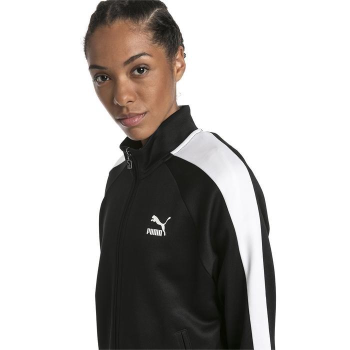 Classics T7 Track Jacket Pt Kadın Siyah Günlük Sweatshirt 57820501 1114005