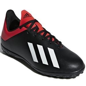 X 18.4 Tf J Çocuk Siyah Halı Saha Futbol Ayakkabısı BB9416
