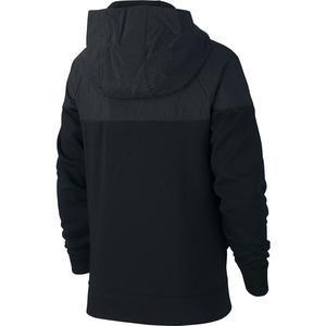 Hoodie Fz Av Çocuk Siyah Günlük Stil Sweatshirt BV3665-010