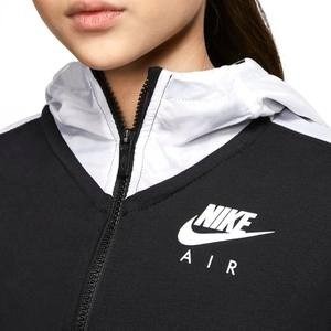 Air Çocuk Siyah Günlük Stil Sweatshirt CJ7411-010