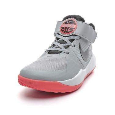 Team Hustle Çocuk Gri Basketbol Ayakkabısı AQ4224-007 1133315
