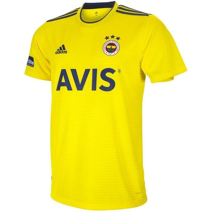 Fenerbahçe Condivo 18-19 Sezon Erkek Sarı Futbol Forması FR7102 1148824