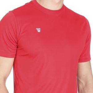 Tkm-Lago Erkek Kırmızı Futbol Tişört TKM100119-KRM