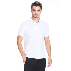 Tkm-Montagna Erkek Beyaz Futbol Polo Tişört TKM100019-BYZ