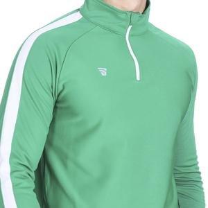 Fiume Erkek Yeşil Yarim Fermuarli Sweartshirt Tkm100519-Ysl