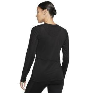 Ls Warm Hollywood Top Kadın Siyah Antrenman Uzun Kollu Tişört BV3392-010